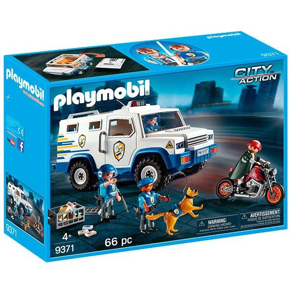 Playmobil City Action 9371 Vehiculo Blindado