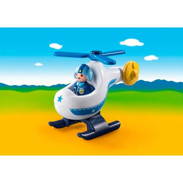 Playmobil 123 - 9383 Helicóptero de Policía - Imatge 1