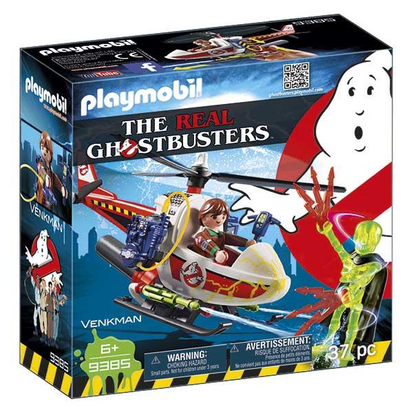 Playmobil 9385 Venkman amb Helicóptero Ghostbusters