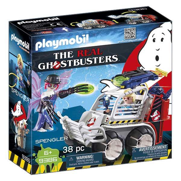 Playmobil 9386 Spengler con Coche Ghostbusters