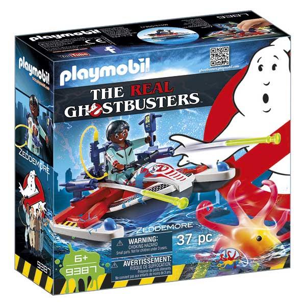 Playmobil 9387 Zeddemore y Moto de Agua Ghostbusters