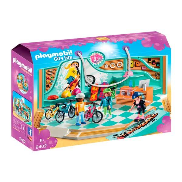 Botiga Bicicletes i Skate Playmobil City Life - Imatge 1