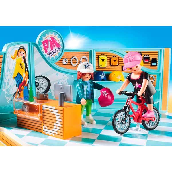 Playmobil 9402 Tienda de Bicicletas y Skate - Imatge 3