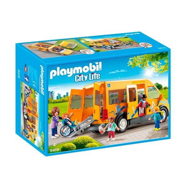 Playmobil City Life 9419 Autobús Escolar City Life