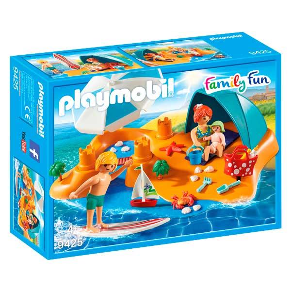 Playmobil 9425 Familia en la Playa Family Fun