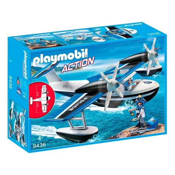Hidroavió de Policia Playmobil Action - Imatge 1