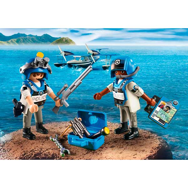 Playmobil Action 9436 Hidroavión de Policía Action - Imatge 3