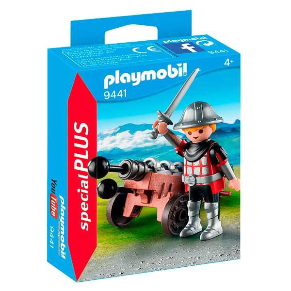 Playmobil 9441 Caballero con Cañón Special Plus