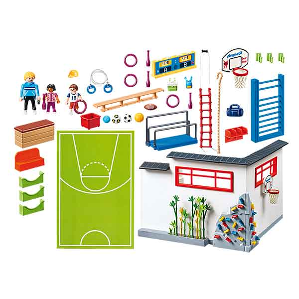Playmobil City Life 9454 Gimnasio Escuela - Imatge 2
