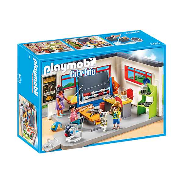 Playmobil City Life 9455 Clase de Historia Escuela
