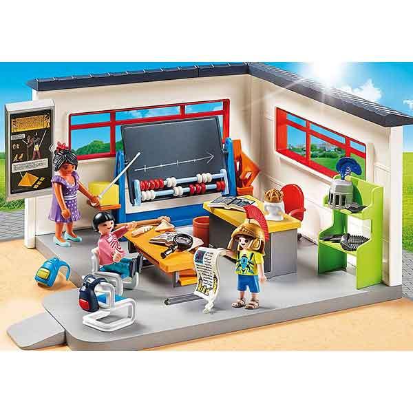 Playmobil City Life 9455 Clase de Historia Escuela - Imagen 2
