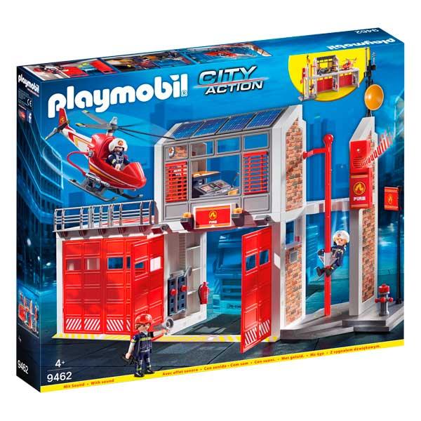 Playmobil 9462 City Action Corpo De Bombeiros