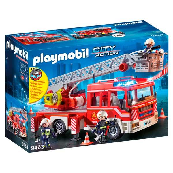 Camió de Bombers amb Escala Playmobil City - Imatge 1