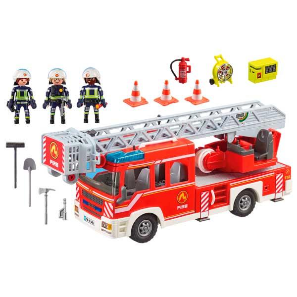 Playmobil 9463 Camión de Bomberos Escalera - Imatge 1