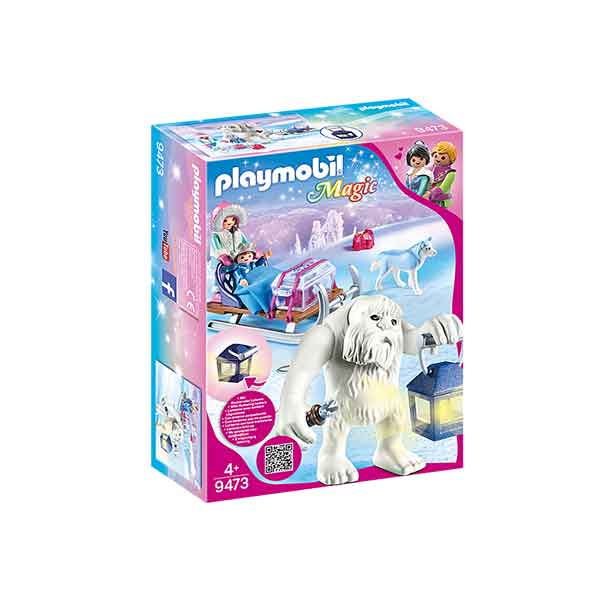 Playmobil Magic 9473 Trol de Nieve con Trineo