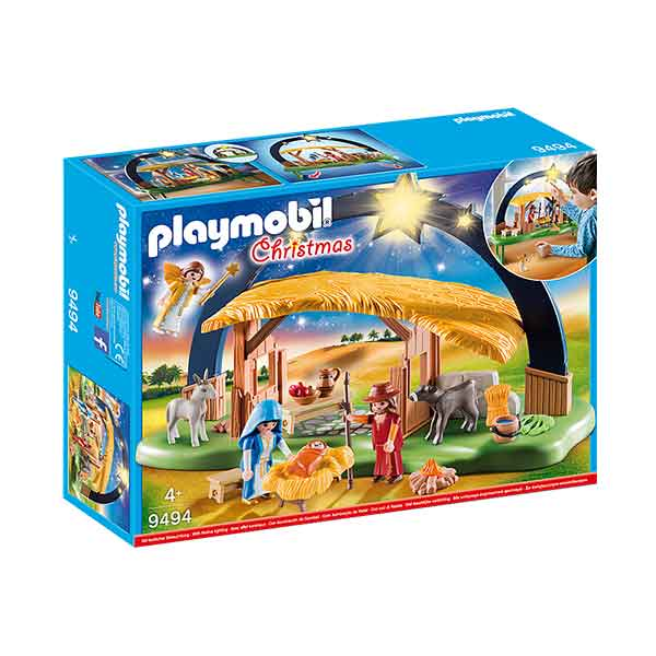 Playmobil Christmas 9494 Belén con Luz