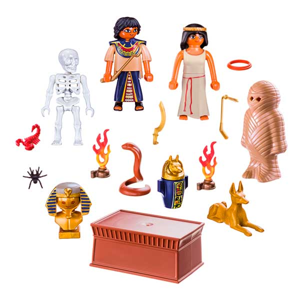 Playmobil History 9542 Maletín Egipto History - Imatge 1
