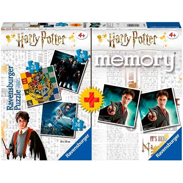 Harry Potter Multipack Quebra-cabeças e Memória