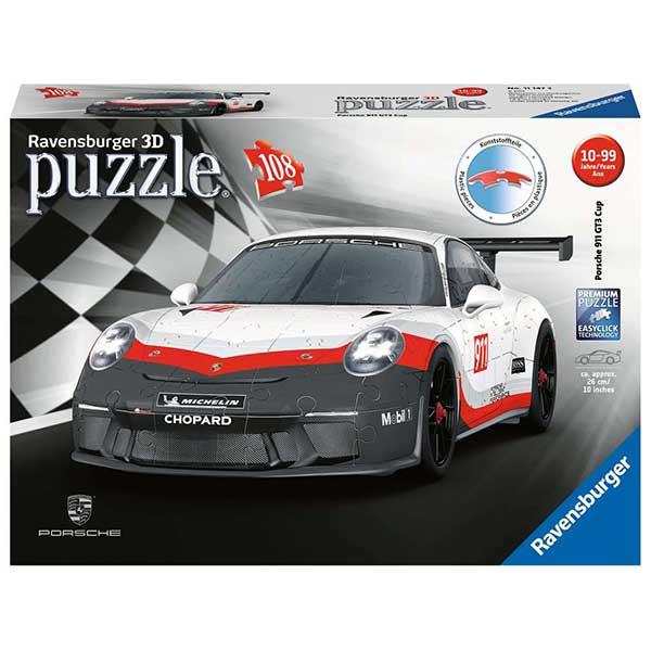 Puzzle 3D Porsche 911 GT3 108p
