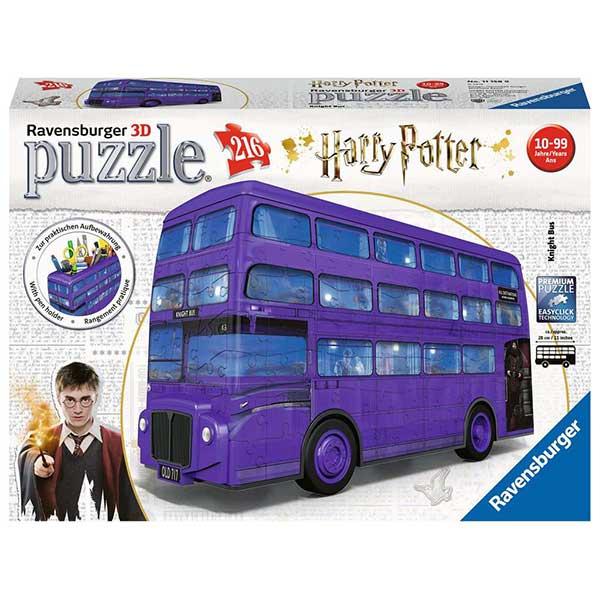 Harry Potter Puzzle 3D 216P Bus