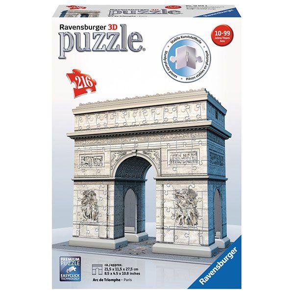 Puzzle 3D 216p Arco Triunfal