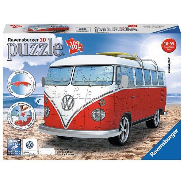 Puzzle 3D 162p Furgoneta Volkswagen - Imagen 1