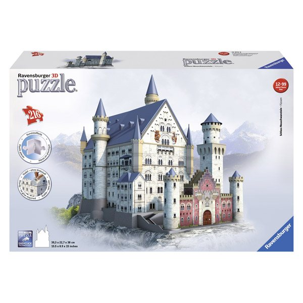Puzzle 3D 216p Neuschwanstein