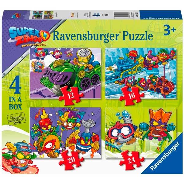 SuperZings Puzzle 12+16+20+24p