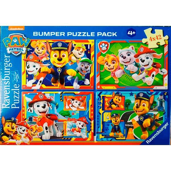 Puzzle 4x42 Bumper Paw Patrol