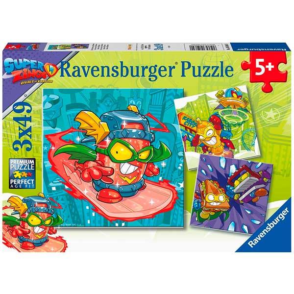 Super Zings Puzzle Infantil 3x49p