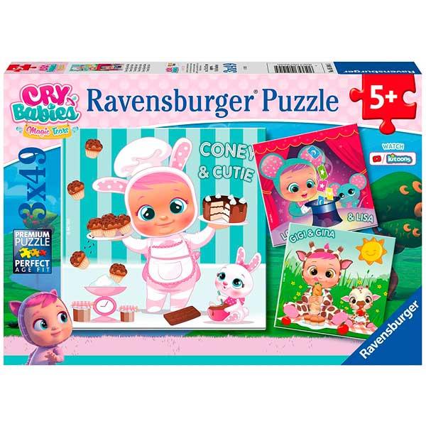 Bebés Chorões Puzzle Infantil 3x49p