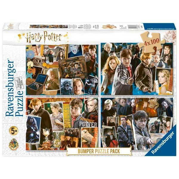 Harry Potter Puzzle 4x100p