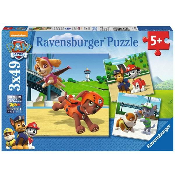 Puzzle 3x49 Escenes Paw Patrol - Imatge 1