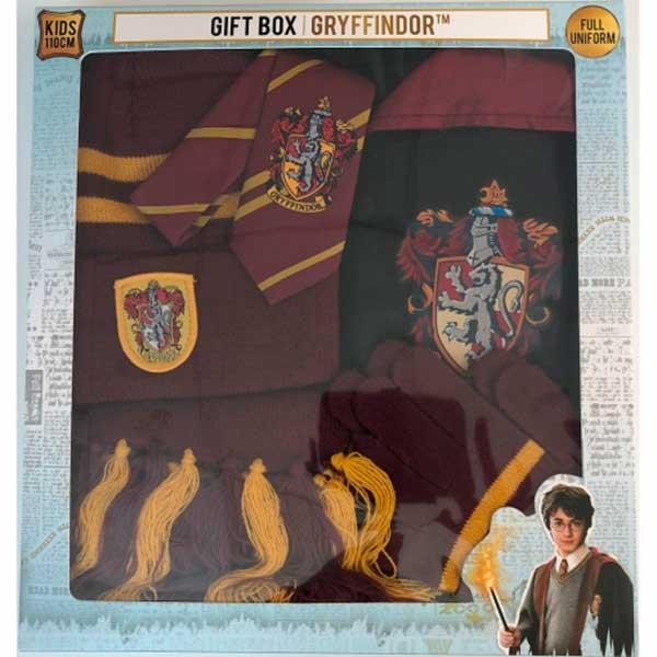 Harry Potter Conjunto Disfarce Gryffindor