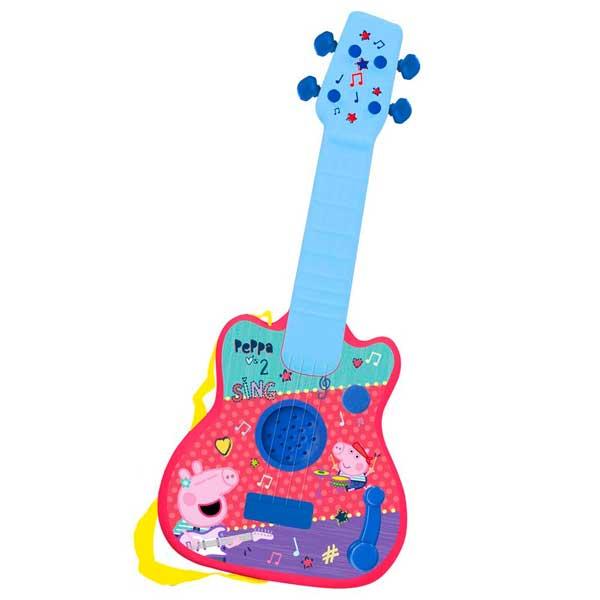 Porquinha Peppa Guitarra Eletrônica Infantil