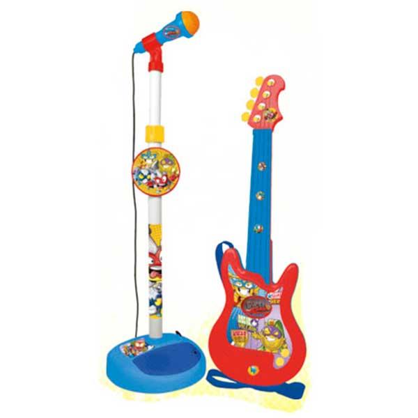 SuperZings Micro y Guitarra