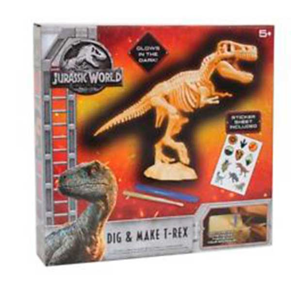 Juego Arqueología T-Rex Jurassic World