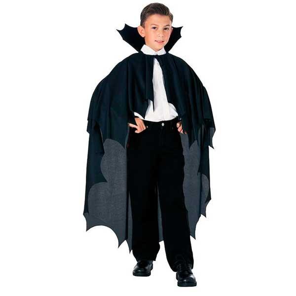 Capa Vampiro Infantil Halloween