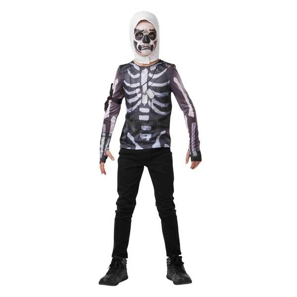 Fortnite Disfarce Skull Trooper 9-10 anos