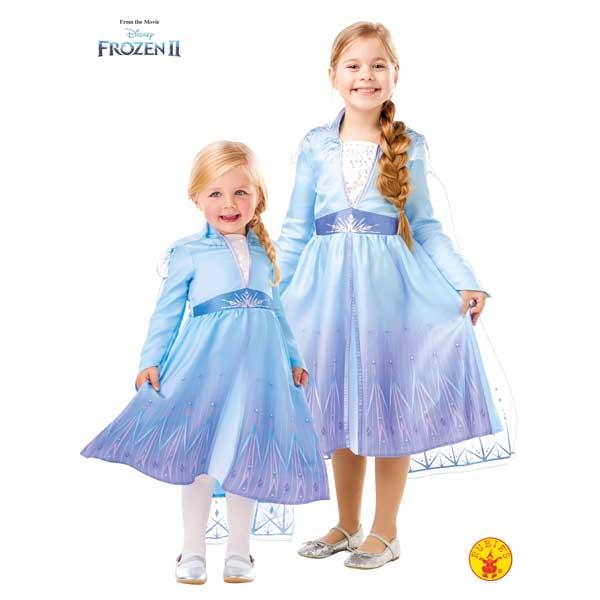 Disfraz Frozen 2 Elsa Travel Classic 7-8 años