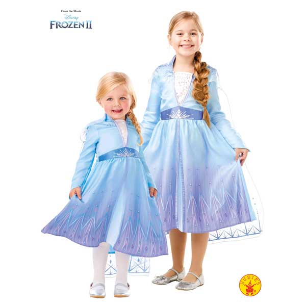 Disfraz Frozen 2 Elsa Travel Classic 5-6 años