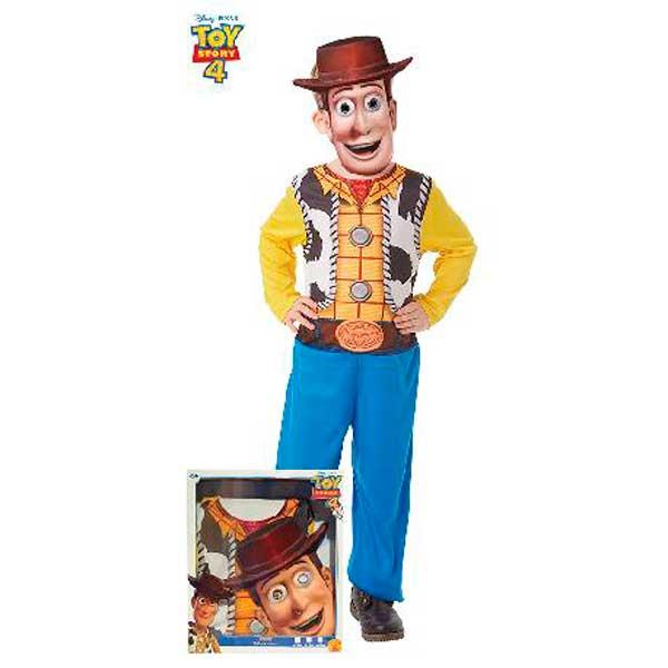 Disfraz Toy Story Woody y Máscara 5-6 años