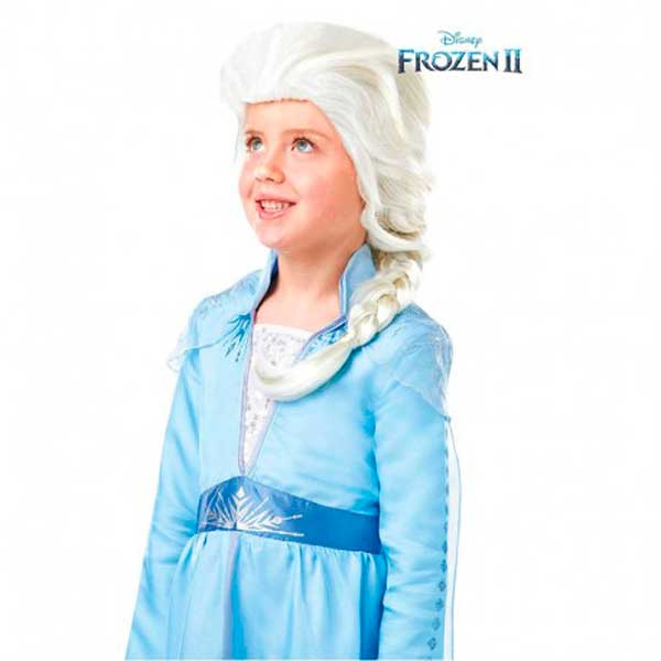 Peluca Infantil Frozen 2 Elsa