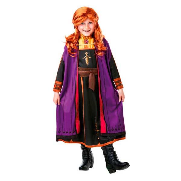 Disfraz Frozen 2 Anna con Peluca en caja 5-6 años