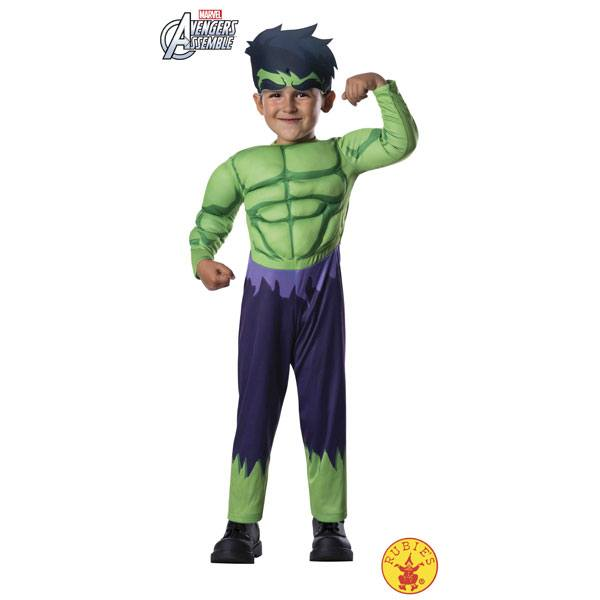 Disfraz Hulk Deluxe 1-2