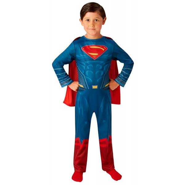 Disfressa Superman Classic 7-8 anys - Imatge 1