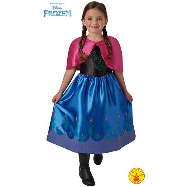 Disfraz Anna Classic Frozen 7-8 Años