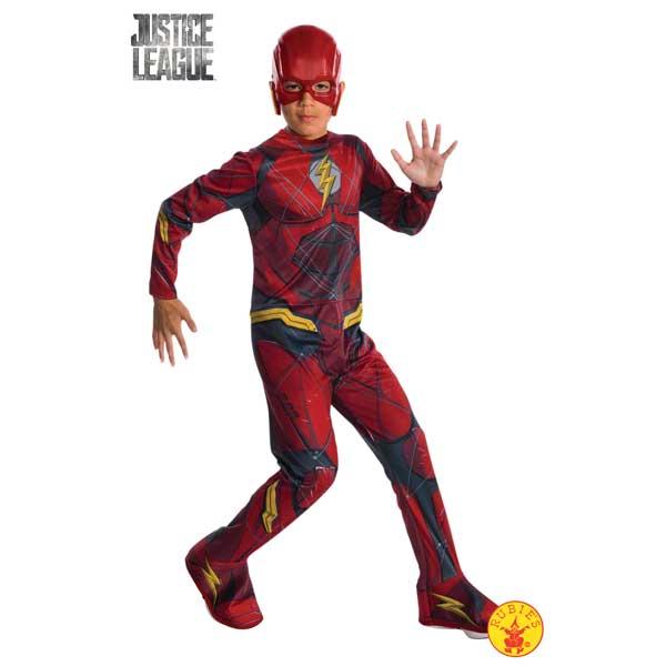 Disfraz Flash JL Movie Classic 3-4 años