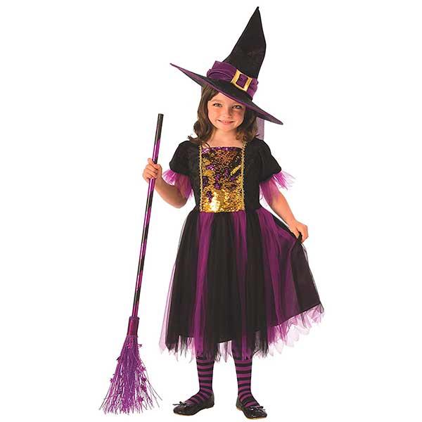 Disfraz Infanil Brujita Magica 8-10 Años