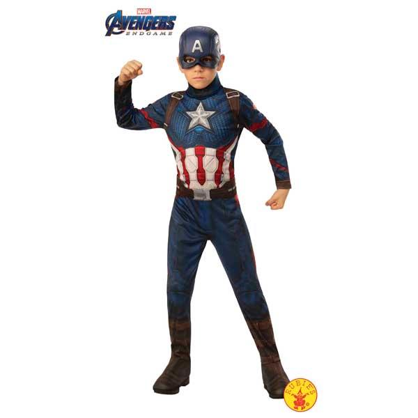 Disfraz Capitán América Endgame Avengers 5-7 años